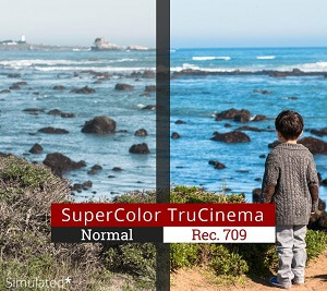 Rec. 709 SuperColor TruCinema
