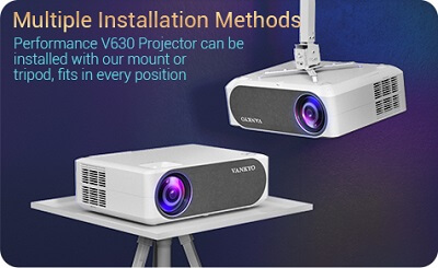 V630 Projector Mounting