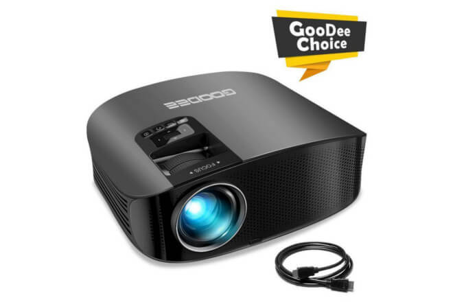 GooDee YG600 Projector – Is It Something To Consider?