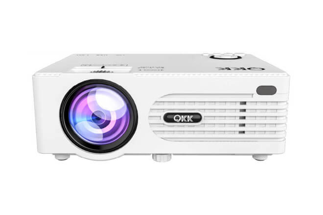 QKK Mini Projector Featured
