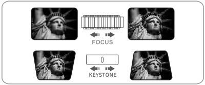 V630W Keystone Correction