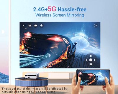 V630W WiFi Screen Sharing